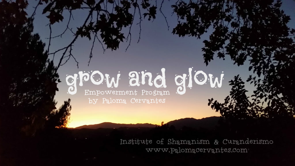grow and glow - Empowerment program by Paloma Cervantes